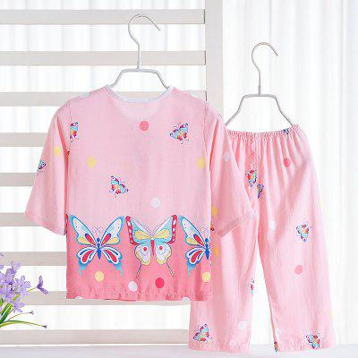 Rayon Girls Pajamas Home Furnishing Air Conditioning Service Set C54Girls clothing sets<br>Rayon Girls Pajamas Home Furnishing Air Conditioning Service Set C54<br><br>Closure Type: Open<br>Clothing Length: Regular<br>Collar: Round Collar<br>Embellishment: Pattern<br>Gender: Girls<br>Head Drawstring: Without<br>Material: Rayon<br>Neck Drawstring: Without<br>Package Contents: 1 x Set of Pajamas<br>Pattern Type: Others<br>Season: Summer<br>Sleeve Length: Full<br>Style: Casual<br>Type: Wide-waisted<br>Weight: 0.1000kg