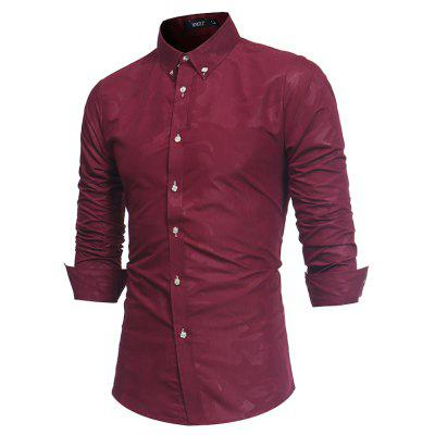 2018 Spring Summer New Mens Fashion Camo Print Long-sleeve Slim ShirtMens Shirts<br>2018 Spring Summer New Mens Fashion Camo Print Long-sleeve Slim Shirt<br><br>Collar: Turn-down Collar<br>Material: Cotton Blends<br>Package Contents: 1 x Shirt<br>Shirts Type: Casual Shirts<br>Sleeve Length: Full<br>Weight: 0.2500kg