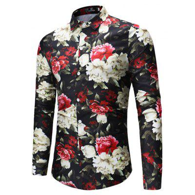 2018 New Foreign Trade New Mens Flower Print Long-Sleeved ShirtMens Shirts<br>2018 New Foreign Trade New Mens Flower Print Long-Sleeved Shirt<br><br>Collar: V-Neck<br>Material: Linen<br>Package Contents: 1xshirt<br>Shirts Type: Casual Shirts<br>Sleeve Length: Full<br>Weight: 1.0000kg