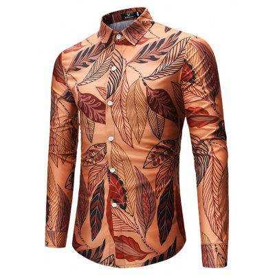 2018 New Mens Leaves Pattern Long-Sleeved ShirtMens Shirts<br>2018 New Mens Leaves Pattern Long-Sleeved Shirt<br><br>Collar: Turn-down Collar<br>Fabric Type: Broadcloth<br>Material: Linen<br>Package Contents: 1xshirt<br>Shirts Type: Casual Shirts<br>Sleeve Length: Full<br>Weight: 1.0000kg