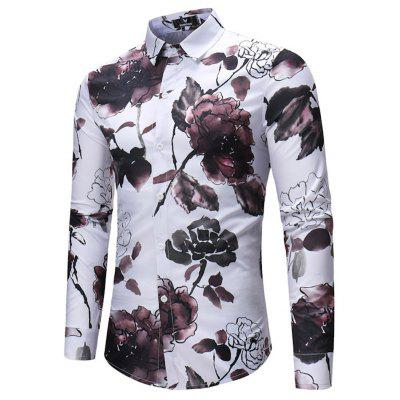 2018 New Mens Ink Flower Pattern Long Sleeve Shirt WaterMens Shirts<br>2018 New Mens Ink Flower Pattern Long Sleeve Shirt Water<br><br>Collar: Turn-down Collar<br>Fabric Type: Broadcloth<br>Material: Linen<br>Package Contents: 1xshirt<br>Shirts Type: Casual Shirts<br>Sleeve Length: Full<br>Weight: 1.0000kg