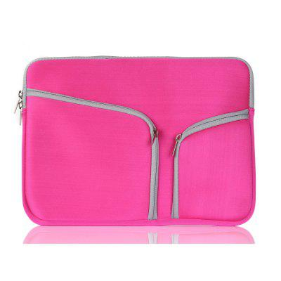 Laptop Bag for  MacBook Air 13 inch Hand-held Zipper Bag Pro Bladder Double Mouth