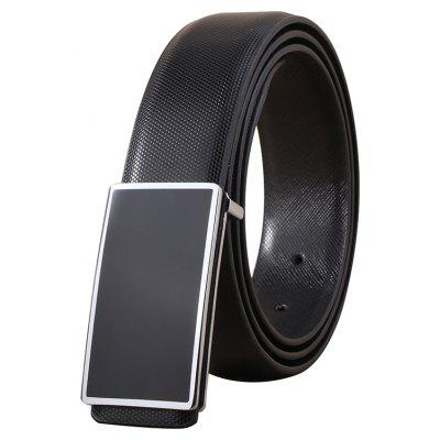 ZHAXIN 898 Man Simple Metal Frame Smooth Clasp Leisure Belt
