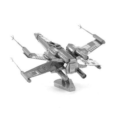 3D Metal Model Kits Puzzle Fighter