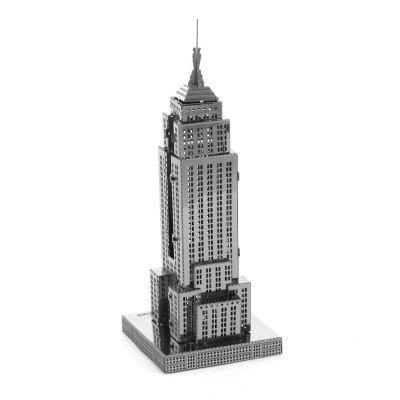 3D Metal Model Empire State Building Kit Jigsaw Toy