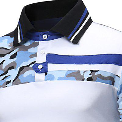 New Mens Fashion Camouflage Color Lapel Leisure Long-Sleeved Polo ShirtMens Short Sleeve Tees<br>New Mens Fashion Camouflage Color Lapel Leisure Long-Sleeved Polo Shirt<br><br>Collar: Turn-down Collar<br>Color Style: Solid<br>Fabric Type: Broadcloth<br>Material: Cotton Blends<br>Package Contents: 1x Polo Shirt<br>Pattern Type: Patchwork<br>Polo Shirt: None<br>Sleeve Length: Full<br>Style: Casual<br>Type: Regular<br>Weight: 0.2800kg