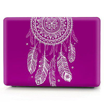 Dream Catcher Feather Ombre Blue Pink Laptop Case for MacBook Air 13.3 inch