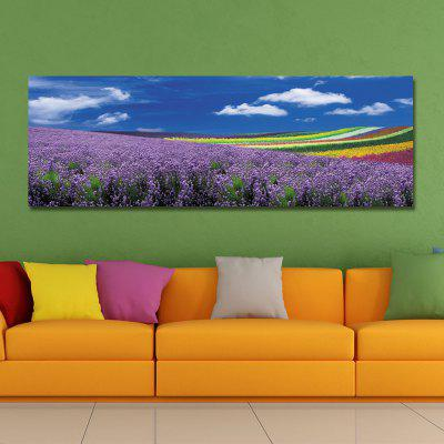 DYC 10933 Photography The Landscape of The Flower Sea Under The Blue Sky Print ArtPrints<br>DYC 10933 Photography The Landscape of The Flower Sea Under The Blue Sky Print Art<br><br>Craft: Print<br>Form: One Panel<br>Material: Canvas<br>Package Contents: 1 x Print<br>Package size (L x W x H): 44.00 x 9.00 x 9.00 cm / 17.32 x 3.54 x 3.54 inches<br>Package weight: 0.4200 kg<br>Painting: Without Inner Frame<br>Product size (L x W x H): 40.00 x 120.00 x 1.00 cm / 15.75 x 47.24 x 0.39 inches<br>Product weight: 0.2800 kg<br>Shape: Horizontal<br>Style: Gorgeous, Plant / Flower, Beads<br>Subjects: Flower<br>Suitable Space: Garden,Living Room,Bedroom,Office,Hotel,Study Room / Office