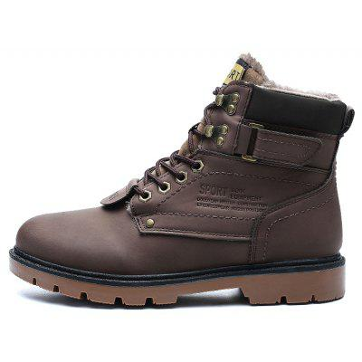 "ZEACAVA Outdoor Waterproof Rubber Leisure Suede Leather Man Martin BootsMens Boots<br>ZEACAVA Outdoor Waterproof Rubber Leisure Suede Leather Man Martin Boots<br><br>Boot Height: Ankle<br>Boot Type: Riding/Equestrian<br>Closure Type: Lace-Up<br>Embellishment: Letter<br>Gender: For Men<br>Heel Hight: Flat(0-0.5"")<br>Heel Type: Low Heel<br>Outsole Material: Rubber<br>Package Contents: 1xShoes(Pair)<br>Pattern Type: Solid<br>Season: Spring/Fall<br>Toe Shape: Round Toe<br>Upper Material: PU<br>Weight: 1.2000kg"
