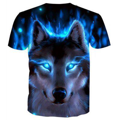 Mens Casual 3D Print Wolf Round Neck Short Sleeves T-shirtMens Short Sleeve Tees<br>Mens Casual 3D Print Wolf Round Neck Short Sleeves T-shirt<br><br>Collar: Round Neck<br>Embellishment: 3D Print<br>Fabric Type: Broadcloth<br>Material: Polyester, Spandex<br>Package Contents: 1 x T-shirt<br>Pattern Type: Character<br>Sleeve Length: Short Sleeves<br>Style: Casual<br>Weight: 0.1800kg