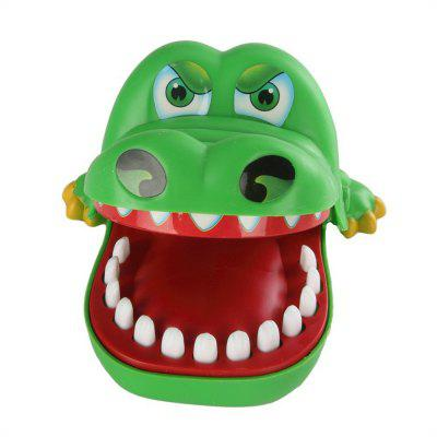 Large Crocodile Jokes Mouth Dentist Bite Finger Game Wacky Toy