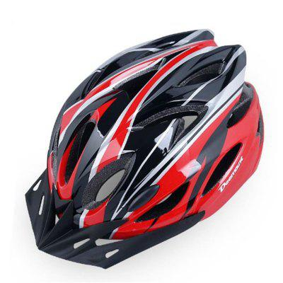 Mountain Bike Integral Molding EPS Tail Lamp Helmet