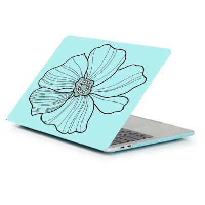 Case for MacBook Pro 13 inch with Retina Display Matte Shell Flower Pattern