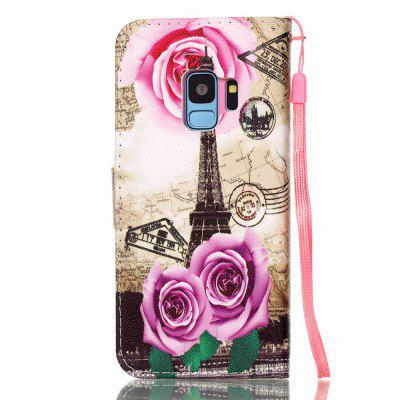 Case for Samsung Galaxy S9 Silison Soft PU TPU Cute Cat Flower Phone ShellSamsung S Series<br>Case for Samsung Galaxy S9 Silison Soft PU TPU Cute Cat Flower Phone Shell<br><br>Compatible with: Samsung Galaxy S9<br>Features: With Lanyard, Full Body Cases, Bumper Frame, With Credit Card Holder, Anti-knock, Vertical Top Flip Case<br>For: Samsung Mobile Phone<br>Material: PU Leather, TPU<br>Package Contents: 1 x Case,1 x Rope<br>Package size (L x W x H): 18.00 x 9.00 x 2.00 cm / 7.09 x 3.54 x 0.79 inches<br>Package weight: 0.0800 kg<br>Product size (L x W x H): 18.00 x 9.00 x 1.50 cm / 7.09 x 3.54 x 0.59 inches<br>Product weight: 0.0750 kg<br>Style: Vintage, Colorful, Funny, Contrast Color, Stripe Pattern, Cartoon, Cute, Leather, Pattern, Fashion, Animal, Floral