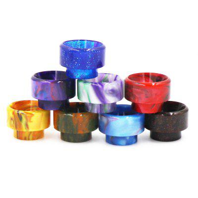 Iwodevape 8PCS 810 Drip Tips 528 Epoxy Resin Drip Tip Wide Bore Mouthpiece