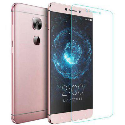 2pcs 2.5D Arc Edge Tempered Glass Screen Film for LeEco Le S3 X626 asling 2 5d arc edge tempered glass screen film for xiaomi a1
