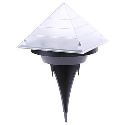 BRELONG Sensor Solar Ground Lights Pyramid Shaped Underground Buried Light Outdoor Garden Lawn Path Lamp 1PCOutdoor Lights<br>BRELONG Sensor Solar Ground Lights Pyramid Shaped Underground Buried Light Outdoor Garden Lawn Path Lamp 1PC<br><br>Brand: BRELONG<br>Features: Waterproof<br>LED Quantity: 3<br>Lifetime ( h ): More Than  30000<br>Package Contents: 1 x Solar Buried Light<br>Package size (L x W x H): 12.50 x 12.00 x 10.50 cm / 4.92 x 4.72 x 4.13 inches<br>Package weight: 0.1600 kg<br>Power Supply: Li-ion Battery<br>Primary Application: Residential<br>Product size (L x W x H): 20.00 x 12.00 x 12.00 cm / 7.87 x 4.72 x 4.72 inches<br>Product weight: 0.1400 kg<br>Switch Type: Clicky<br>Type: Lawn Lights<br>Voltage: 1.2V<br>Wattage: 2W
