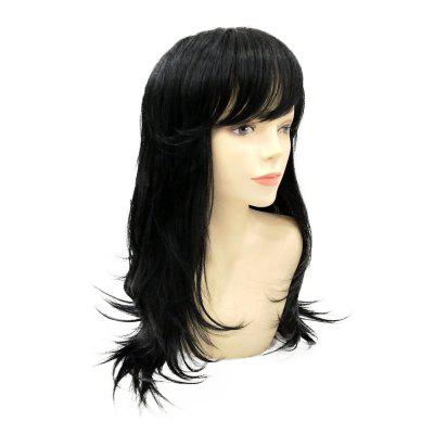 High Quality Black Long Straight Human Hair Wigs