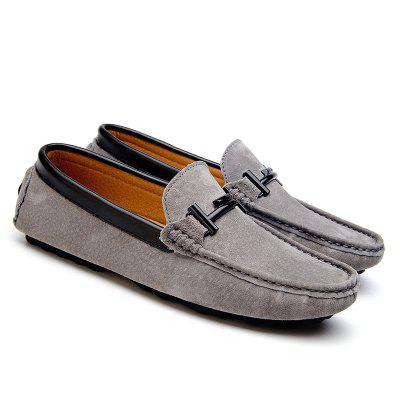 New Men Real Leather Casual Bean ShoesFlats &amp; Loafers<br>New Men Real Leather Casual Bean Shoes<br><br>Available Size: 37-46<br>Closure Type: Slip-On<br>Embellishment: None<br>Gender: For Women<br>Outsole Material: Rubber<br>Package Contents: 1 x Shoes (pair)<br>Pattern Type: Others<br>Season: Summer<br>Toe Shape: Pointed Toe<br>Toe Style: Closed Toe<br>Upper Material: Genuine Leather<br>Weight: 1.1160kg