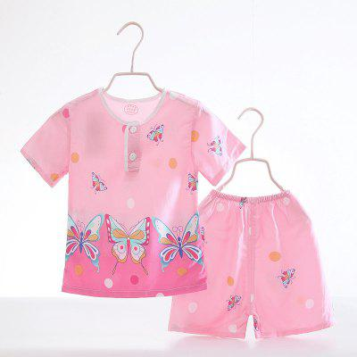 Summer Rayon Girls Short Sleeve Pajamas Set C54Girls clothing sets<br>Summer Rayon Girls Short Sleeve Pajamas Set C54<br><br>Closure Type: Open<br>Clothing Length: Regular<br>Collar: Round Collar<br>Gender: Girls<br>Head Drawstring: Without<br>Material: Rayon<br>Neck Drawstring: Without<br>Package Contents: 1 x Set of Pajamas<br>Pattern Type: Others<br>Season: Summer<br>Sleeve Length: Short<br>Sleeve Style: Regular<br>Style: Casual<br>Type: Wide-waisted<br>Weight: 0.1000kg