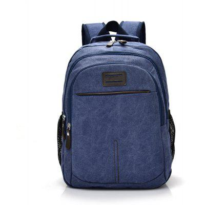 Fashion Simple Wild Large Canvas Travel Outdoor Backpack