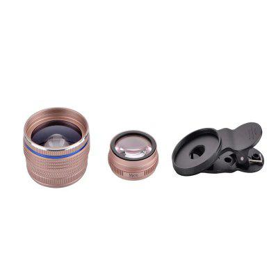 Ultra Wide Wide Angle Phone Lens Macro Camera  Suitable for Mobile Phone Tablet PC super wide angle 2x lens for iphone 6 6s