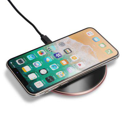 Fast Wireless Charger Charging Pad for Samsung Galaxy Note 8 S8 S8 Plus, Standard Charge for Apple iPhone 8 X 8 Plus k8 qi wireless charging transmitter pad for nokia lumia 820 920 samsung galaxy s3 i9300 note 2