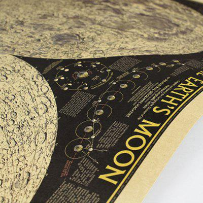 Moon Pattern Bar Coffee Living Room Kraft Paper Decoration PosterWall Stickers<br>Moon Pattern Bar Coffee Living Room Kraft Paper Decoration Poster<br><br>Function: Decorative Wall Sticker<br>Layout Size (L x W): 72.5 x 48cm<br>Material: Paper<br>Package Contents: 1 x Map Paper Poster<br>Package size (L x W x H): 75.00 x 50.00 x 20.00 cm / 29.53 x 19.69 x 7.87 inches<br>Package weight: 0.1600 kg<br>Product size (L x W x H): 72.50 x 48.00 x 1.00 cm / 28.54 x 18.9 x 0.39 inches<br>Product weight: 0.1500 kg<br>Quantity: 1<br>Subjects: Vintage<br>Suitable Space: Living Room,Dining Room,Office,Study Room / Office<br>Type: Plane Wall Sticker