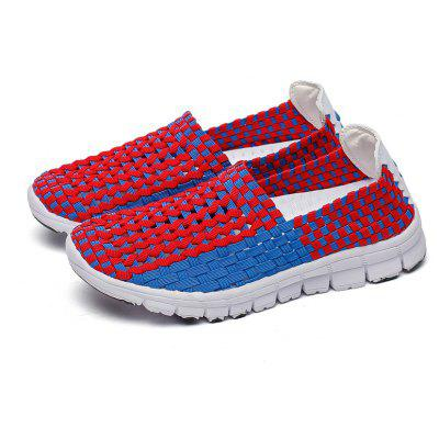 New Breathable 2018 Summer Light Paternity Shoes for WomenLoafers<br>New Breathable 2018 Summer Light Paternity Shoes for Women<br><br>Available Size: 28-40<br>Closure Type: Slip-On<br>Embellishment: Appliques<br>Gender: Unisex<br>Occasion: Casual<br>Outsole Material: EVA<br>Package Contents: 1 x shoes  (Pair)<br>Pattern Type: Others<br>Season: Summer, Spring/Fall<br>Toe Shape: Round Toe<br>Toe Style: Closed Toe<br>Upper Material: Stretch Fabric<br>Weight: 0.9234kg