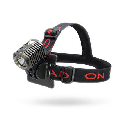 ON THE ROAD MX3-HL USB Charging LED Head Lamp (Exclude Battery Pack)