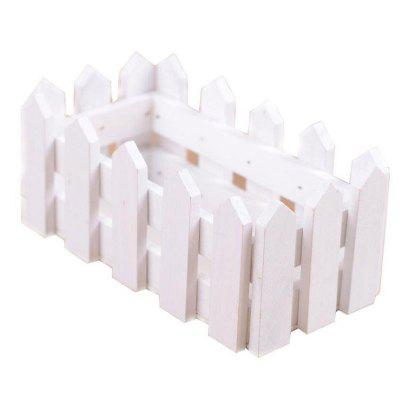Trough Fences Planter Strip Plastic Flower Pots