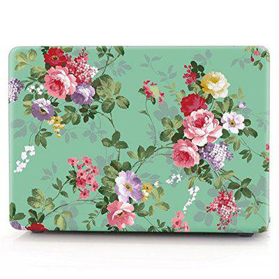 Matte Print Tropical Palm Leaves Pattern Coated Case for Macbook Air 13.3 inch