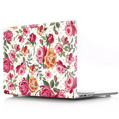 Rose Flower Laptop Body Shell PC Protective Hard  for Macbook Air 13.3 inch laptop palmrest