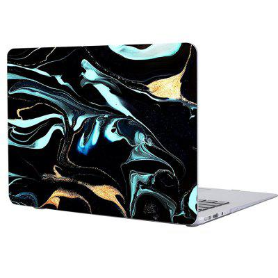Black Marble Laptop Body Shell PC Protective Hard for Macbook Air 13.3 Inch for ipod touch 6 5 black friday series hard pc cover shell style h