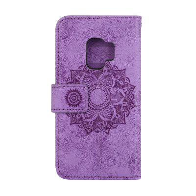 For Samsung Galaxy S9 Case Embossed Mandala Flower Pattern Faux Leather CoverSamsung S Series<br>For Samsung Galaxy S9 Case Embossed Mandala Flower Pattern Faux Leather Cover<br><br>Compatible with: Samsung Galaxy S9<br>Features: Full Body Cases, Cases with Stand, With Credit Card Holder<br>For: Samsung Mobile Phone<br>Material: TPU, PU Leather<br>Package Contents: 1 x Phone Case<br>Package size (L x W x H): 20.00 x 10.00 x 4.00 cm / 7.87 x 3.94 x 1.57 inches<br>Package weight: 0.1000 kg<br>Product size (L x W x H): 15.00 x 7.00 x 2.00 cm / 5.91 x 2.76 x 0.79 inches<br>Product weight: 0.0500 kg<br>Style: Vintage