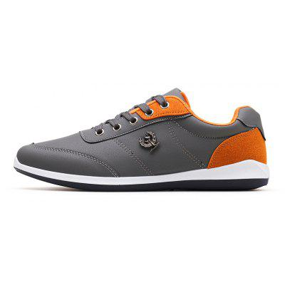 ZEACAVA Autumn New Fashion  Mens Shoes British Tide Male Lace Casual ShoesMen's Sneakers<br>ZEACAVA Autumn New Fashion  Mens Shoes British Tide Male Lace Casual Shoes<br><br>Available Size: 39-44<br>Closure Type: Lace-Up<br>Embellishment: Appliques<br>Gender: For Men<br>Outsole Material: Rubber<br>Package Contents: 1xShoes(Pair)<br>Pattern Type: Solid<br>Season: Spring/Fall<br>Toe Shape: Round Toe<br>Toe Style: Closed Toe<br>Upper Material: Full Grain Leather<br>Weight: 1.2000kg
