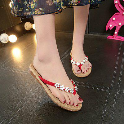 Slippers in Antiskid FashionSlippers &amp; Flip-Flops<br>Slippers in Antiskid Fashion<br><br>Available Size: 36,37,38,39,40,41<br>Gender: For Women<br>Heel Type: Flat Heel<br>Package Contents: 1xSlippers pair<br>Pattern Type: Solid<br>Season: Summer<br>Slipper Type: Outdoor<br>Style: Leisure<br>Upper Material: PU<br>Weight: 0.6240kg