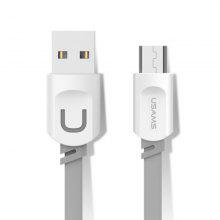 USAMS SJ012 2.1A Micro USB Cable 0.25M Charging Mobile Phone Cables for Samsung