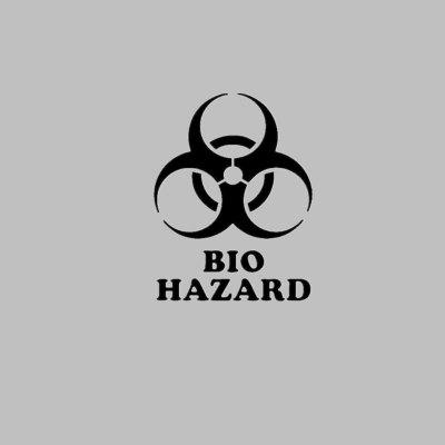 Buy DSU BIO HAZARD Toilet Stickers Individual Bathroom Decoration Decal, BLACK, Home & Garden, Home Decors, Wall Art, Wall Stickers for $2.43 in GearBest store