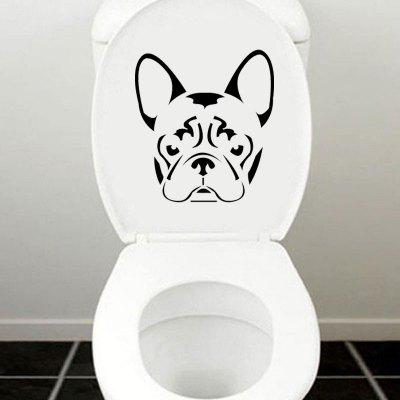 DSU French BullDog Frenchie Face Head Vinyl Decal Toilet Stickers Home DecorWall Stickers<br>DSU French BullDog Frenchie Face Head Vinyl Decal Toilet Stickers Home Decor<br><br>Brand: DSU<br>Color Scheme: Black<br>Function: Height Sticker, Light Switch Stickers, Decorative Wall Sticker, Fridge Sticker<br>Material: Vinyl(PVC)<br>Package Contents: 1 x Wall Sticker<br>Package size (L x W x H): 22.00 x 17.00 x 0.50 cm / 8.66 x 6.69 x 0.2 inches<br>Package weight: 0.0800 kg<br>Product size (L x W x H): 20.00 x 15.00 x 0.10 cm / 7.87 x 5.91 x 0.04 inches<br>Product weight: 0.0500 kg<br>Quantity: 1<br>Subjects: Fashion,Vintage,Others,Holiday,Cute,Cartoon<br>Suitable Space: Garden,Living Room,Bathroom,Bedroom<br>Type: Plane Wall Sticker