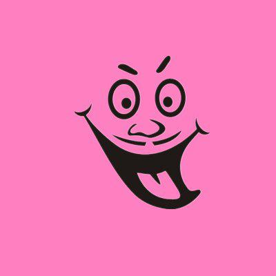 Buy DSU Funny Face Toilet Bathroom Vinyl Sticker Decals Decor, BLACK, 20X15CM, Home & Garden, Home Decors, Wall Art, Wall Stickers for $2.59 in GearBest store
