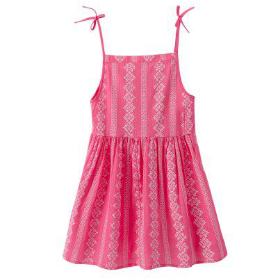 Girls Summer Floral Dress Strap CasualGirls dresses<br>Girls Summer Floral Dress Strap Casual<br><br>Dresses Length: Knee-Length<br>Elasticity: Micro-elastic<br>Embellishment: Flowers<br>Material: Cotton<br>Package Contents: 1 x Dress<br>Pattern Type: Floral<br>Season: Summer<br>Silhouette: A-Line<br>Sleeve Length: Sleeveless<br>Style: Casual<br>Waist: Natural<br>Weight: 0.3750kg<br>With Belt: No