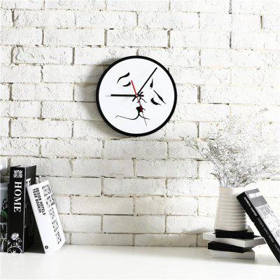 Nordic Style Simple Diy Creative Kiss Black and White Acrylic Silent Fashion ClockClocks<br>Nordic Style Simple Diy Creative Kiss Black and White Acrylic Silent Fashion Clock<br><br>Color: White<br>Material: Acrylic<br>Package Contents: 1 x Clock, 1 x Set Of Accessories<br>Package size (L x W x H): 30.00 x 30.00 x 5.00 cm / 11.81 x 11.81 x 1.97 inches<br>Package weight: 0.5100 kg<br>Product size (L x W x H): 28.00 x 28.00 x 3.00 cm / 11.02 x 11.02 x 1.18 inches<br>Product weight: 0.5000 kg<br>Shape: Round<br>Style: Fashion<br>Theme: Others<br>Time Display: Analog<br>Type: Wall Clock