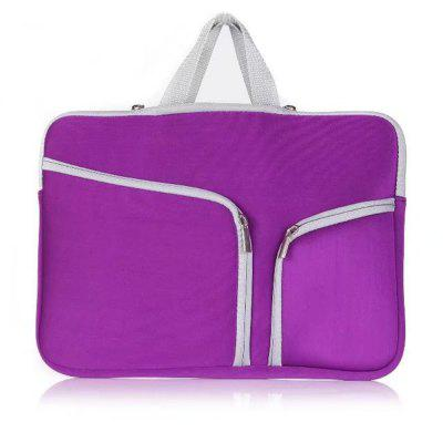 11.6 inch Tablet / Laptop Sleeve Double Pocket Zipper Bag Carrying Case