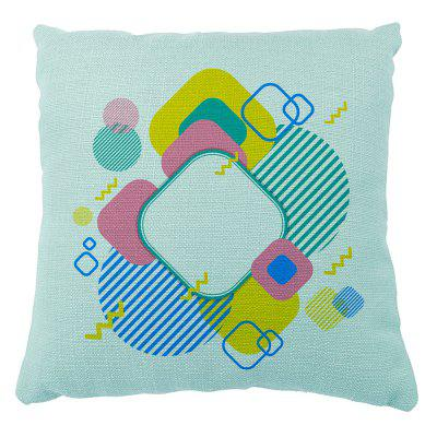 Geometric Body Household Soft Solid By Pillow Cover Sofa Bedroom Cushion