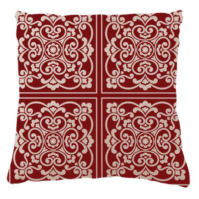 Pattern Modern Chinese Home Furnishing Pillow Office Bedroom Sofa Cushion Cover