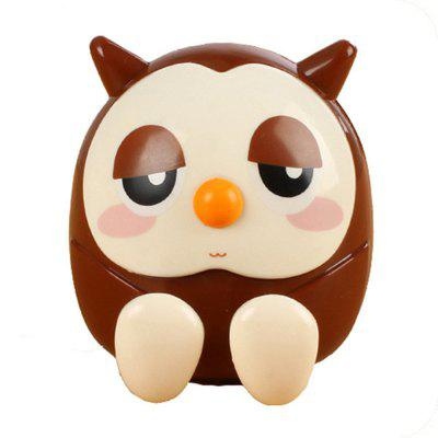 Creative ABS Mobile Phone Holder Cute Owl Cartoon Stand Mini Saving Money Box