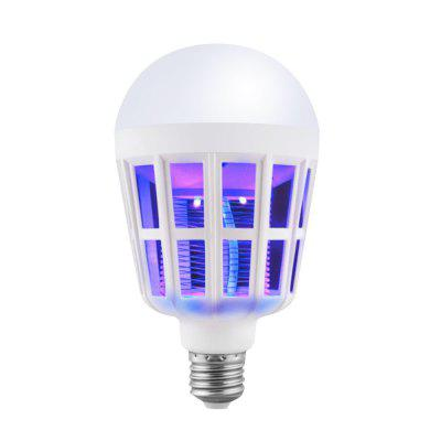 utorch LED Mosquito Home Lighting Bulb 9W 15W 220VGlobe bulbs<br>utorch LED Mosquito Home Lighting Bulb 9W 15W 220V<br><br>Brand: Utorch<br>Color Temperature or Wavelength: 6000-6500k  360-420nm<br>Connection: E27<br>Dimmable: No<br>Initial Lumens ( lm ): 200<br>LED Beam Angle: 270 Degree<br>LED Quantity: 12<br>Lifetime ( h ): More Than  30000<br>Material: ABS<br>Package Contents: 1 x Mosquito Bulb Lamp<br>Package size (L x W x H): 16.00 x 10.00 x 10.00 cm / 6.3 x 3.94 x 3.94 inches<br>Package weight: 0.1600 kg<br>Primary Application: Everyday Use<br>Product size (L x W x H): 15.50 x 9.00 x 9.00 cm / 6.1 x 3.54 x 3.54 inches<br>Product weight: 0.1250 kg<br>Type: LED Globe Bulbs<br>Voltage: AC 220<br>Wattage: Other