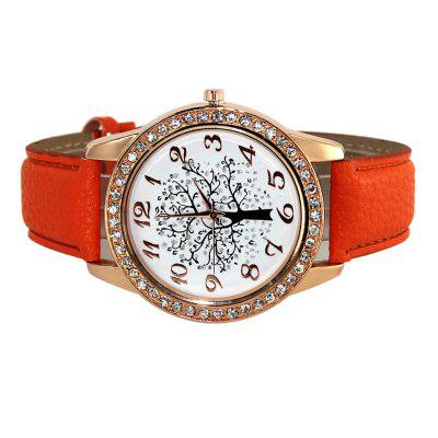 Tree Of Life Fashion Men Belt Leather Band WatchMens Watches<br>Tree Of Life Fashion Men Belt Leather Band Watch<br><br>Band material: Leather<br>Case material: Stainless Steel<br>Clasp type: Pin buckle<br>Display type: Analog<br>Movement type: Quartz watch<br>Package Contents: 1 x Watch<br>Package size (L x W x H): 24.00 x 4.00 x 0.40 cm / 9.45 x 1.57 x 0.16 inches<br>Package weight: 0.0520 kg<br>Product size (L x W x H): 23.00 x 3.90 x 0.20 cm / 9.06 x 1.54 x 0.08 inches<br>Product weight: 0.0450 kg<br>Shape of the dial: Round<br>Watch style: Trends in outdoor sports, Cool, Business, Fashion, Casual<br>Watches categories: Men<br>Water resistance: Life water resistant