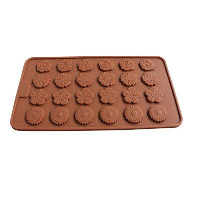 New Hot Rose Mini Chocolate Cake Baking Mould 1PCSCake Molds<br>New Hot Rose Mini Chocolate Cake Baking Mould 1PCS<br><br>Material: Silicone<br>Package Contents: 1 x Silicone Chocolate Mold<br>Package size (L x W x H): 25.00 x 15.00 x 10.00 cm / 9.84 x 5.91 x 3.94 inches<br>Package weight: 0.0560 kg<br>Product size (L x W x H): 21.50 x 11.70 x 1.00 cm / 8.46 x 4.61 x 0.39 inches<br>Product weight: 0.0520 kg<br>Type: Bakeware